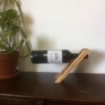 Porte-bouteille de vin en bois magique équilibre